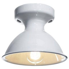 Antique White Porcelain Flush Mount Lamps