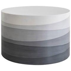 Fade Coffee Table, Black Cement by Fernando Mastrangelo