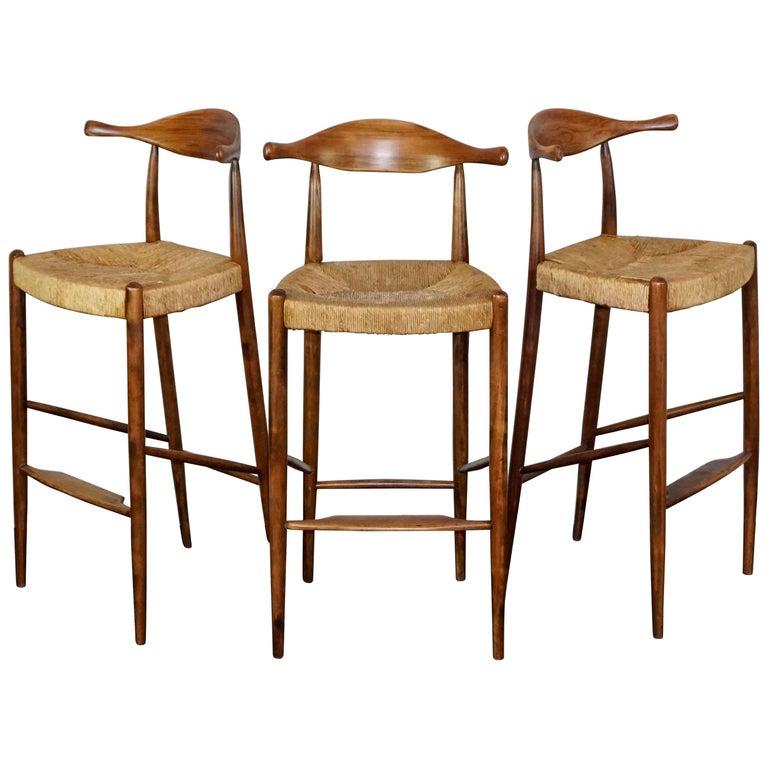 Pair Of Arthur Umanoff Clover Leaf D609 Chairs At 1stdibs