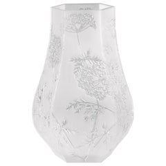 Lalique Ombelles Vase Clear Crystal