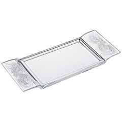 Lalique Naiades Tray Clear Crystal