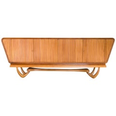 """""""Mammoth"""" Sideboard in Brazilian Woods by Gisueppe Scapinelli, Brazil, 1950s"""