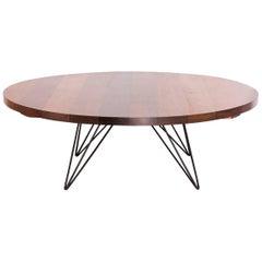 Coffee Table in Six Brazilian Hardwoods by Acácio Gil Borsoi, Brazil, 1958