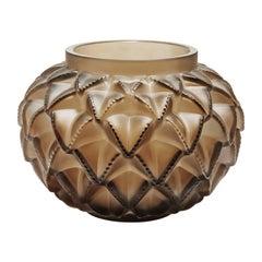 Lalique Languedoc Vase Bronze Crystal Limited Edition
