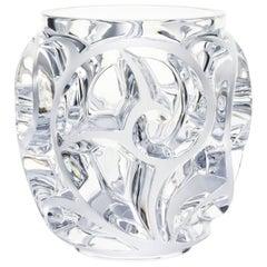 Lalique Tourbillons Vase Clear Crystal Extra Large