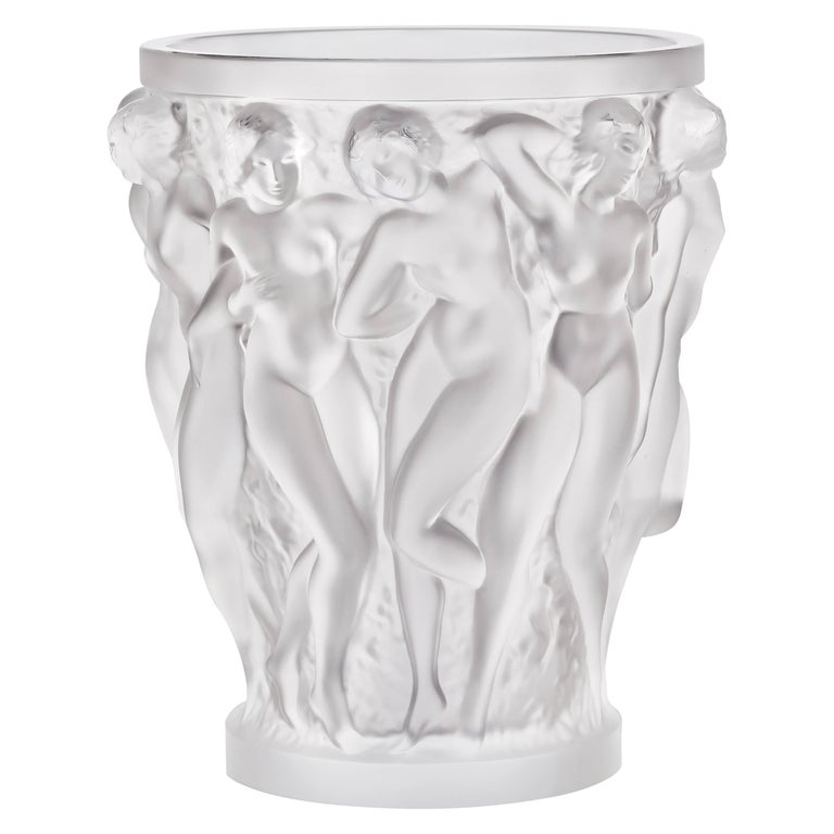 Quot Champagne Quot Vase By Ren 233 Lalique Circa 1930 At 1stdibs
