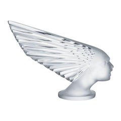 Lalique Victoire Paperweight Clear Crystal
