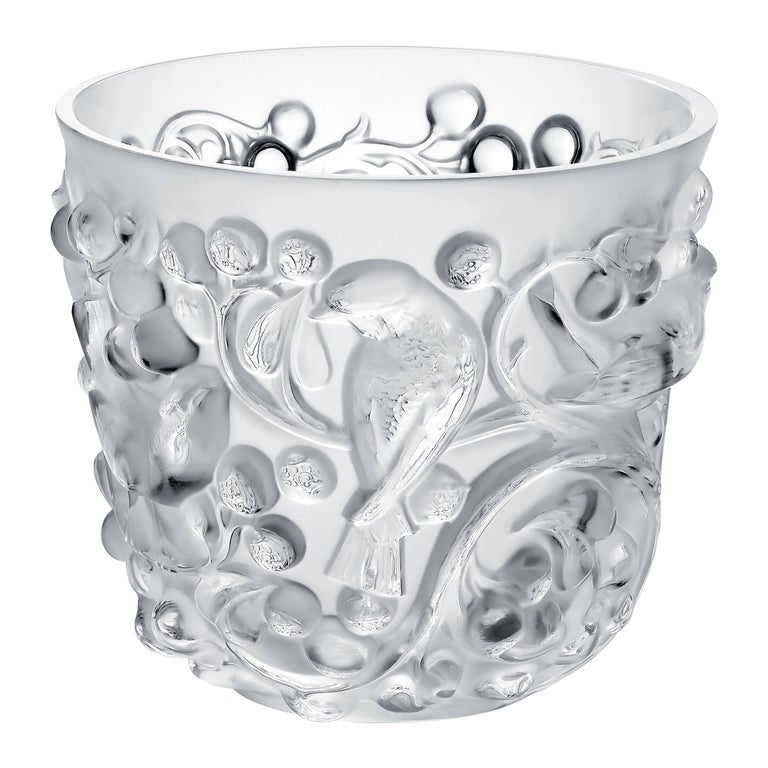 Lalique Avallon Vase Clear Crystal