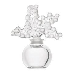 Lalique Clairefontaine Perfume Bottle in Clear Crystal