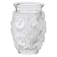 Lalique Bagatelle Vase in Clear Crystal