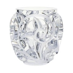 Lalique Small Tourbillons Vase in Clear Crystal