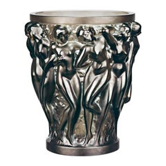 Lalique Bacchantes Vase in Bronze Crystal