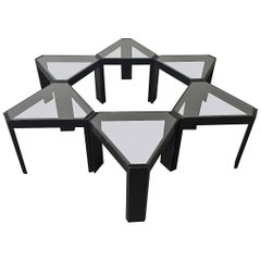 Porada Arredi Geometric Stackable Nesting Tables