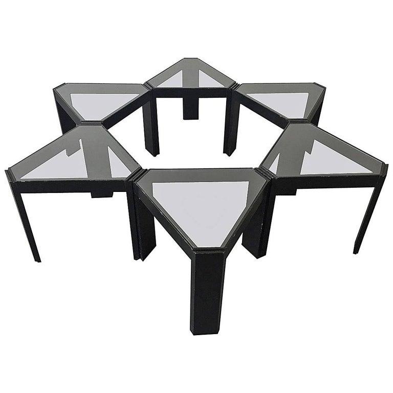 Porada Arredi Geometric Stackable Nesting Tables