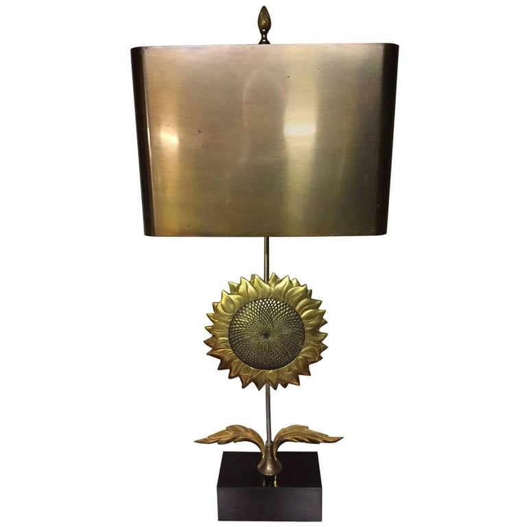 Very Rare Sun Table Lamp by Maison Charles