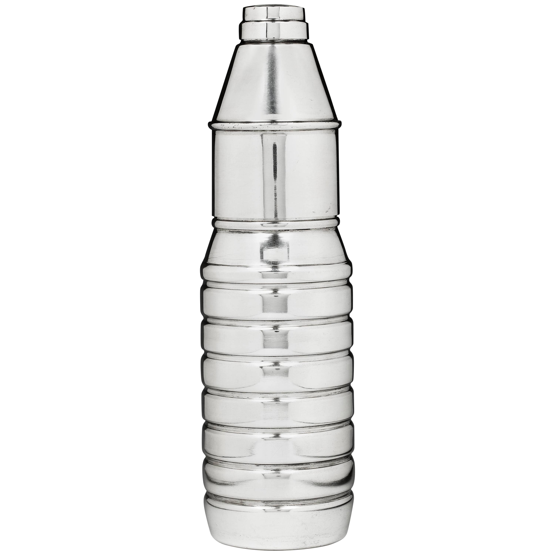 Belgian Silver 'Spa Monopole' Cocktail Shaker, 1971