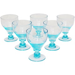 Art Deco Uranium Glasses