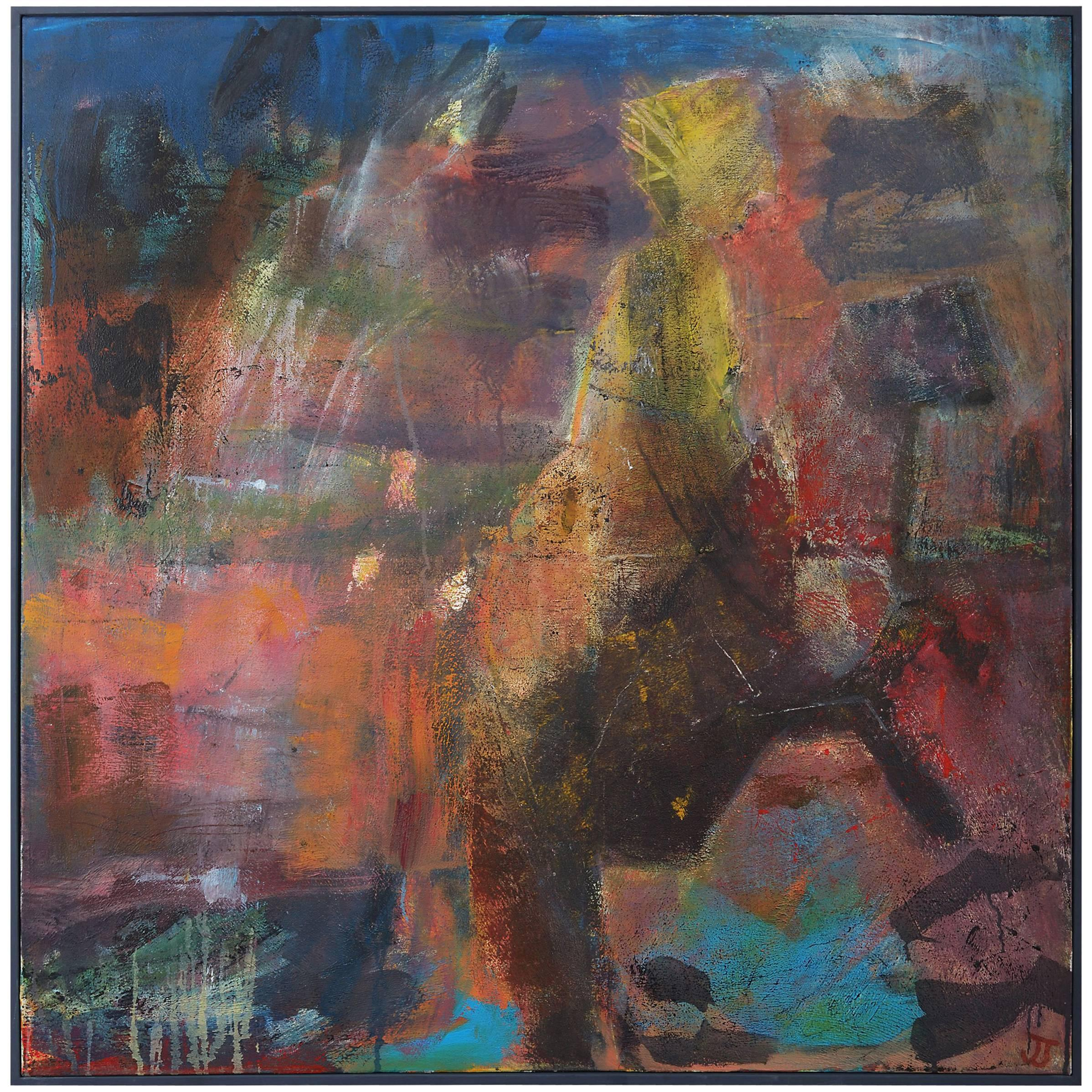 'She Rides' Painting by Jessica Taylor, Acrylic on canvas