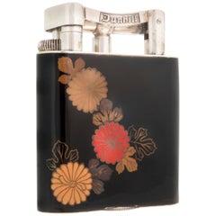 Alfred Dunhill 'Namiki' Enamel Table Lighter, 1930s