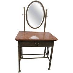 Primitive Vanity with Mirror