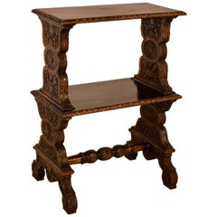 19th Century Carved Shelf