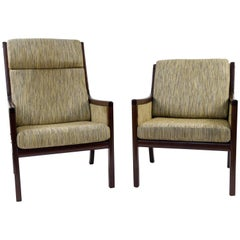Pair of Ole Wanscher for Poul Jeppesen Easy Chairs