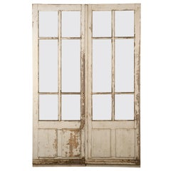 Antique Pair of French Doors from the Provence, circa 1800s