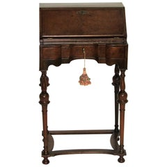 19th Century English Petite Secretary