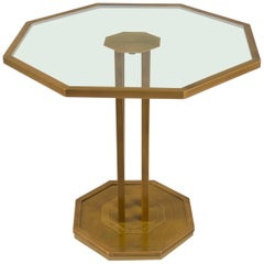Petite Octagonal Side Table, France, 1970s