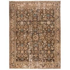 Antique Persian Tabriz Rug, 10.02x13.06
