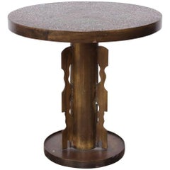 Phillip and Kelvin LaVerne Etruscan Side Table