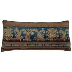 Antique Brussels Tapestry Pillow, circa 16th Century 188p