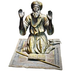 Franz Bergman, 'Praying Muslim Man', Vienna Sculptural Paperweight, circa 1900