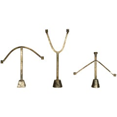 Sprue Candelabra 1, 2 & 3 in Bronze by Fort Standard