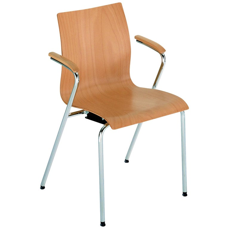 Hot Armchair in Beech by GTV For Sale