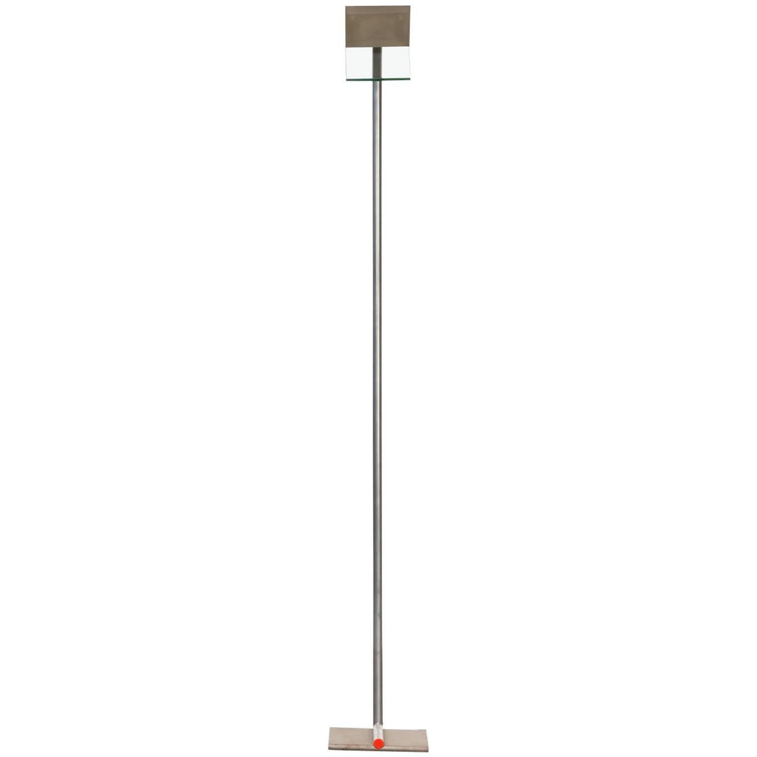 1980s Design Halogen Floor Lamp