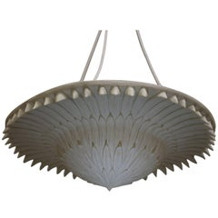 Ceiling Sconce 'Palm' by Oriel Harwood