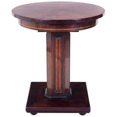 Small French Art Deco Palisander Table, Period 1910-1919