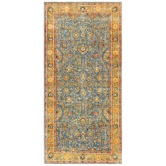 Antique Gallery Size Indian Agra Rug