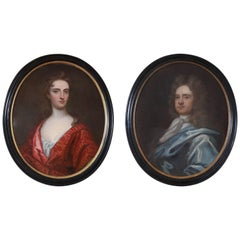 Two 19th Century English Oval Portraits