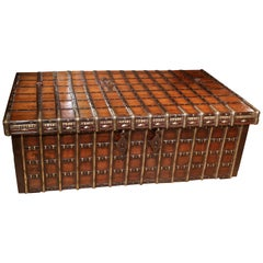 19th Century Anglo-Indian Teak Wood Box or Coffee Table