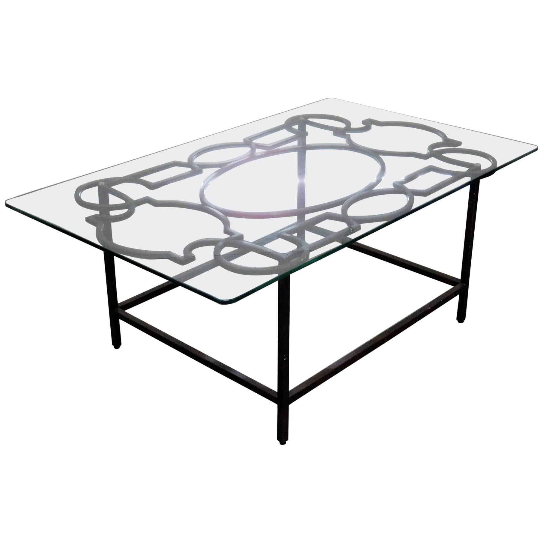 Jonathan Charles Industrial Style Coffee Table