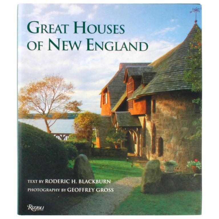 """Great Houses of New England,"" Signed First Edition Book"