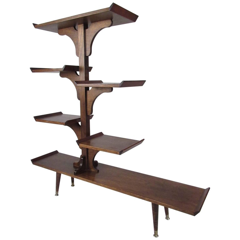 Unique Studio Made Etagere Plant Stand For Sale At 1stdibs