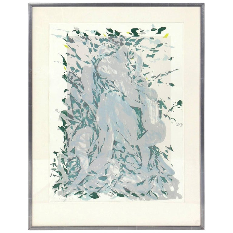 Abstract Lithograph by Elaine de Kooning