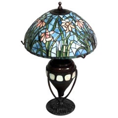 "American Victorian ""Tiffany Style"" Table Lamp 'Reproduction'"