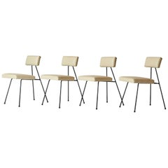 Rare Set of Adrian Pearsall Dining Chairs