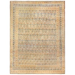 Fine Persian Tehran Room Size Antique Carpet