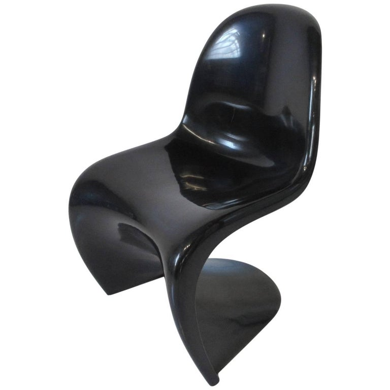 "Verner Panton ""S"" Molded Plastic Chair"
