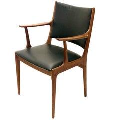 Armchair in Teak by Johannes Andersen for Uldum Møbelfabrik